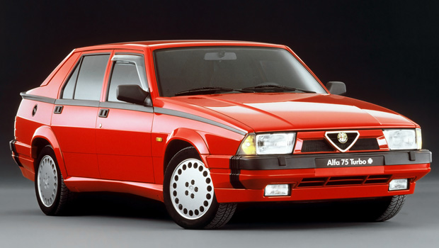 alfa romeo 75 turbo america donolato ottorino vendita auto usate padova. Black Bedroom Furniture Sets. Home Design Ideas
